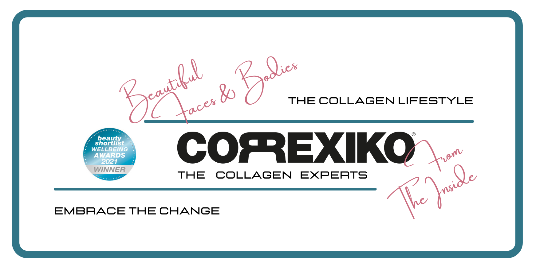 The Collagen Lifestyle: Beautiful Faces & Bodies (From The Inside) | Correxiko - The Collagen Experts
