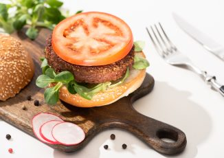 Print-and-Keep Lentil Walnut Burger Recipe - National Burger Day 2021 - Correxiko - The Collagen Experts